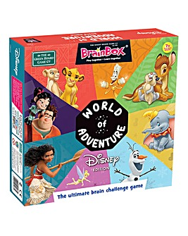 BrainBox World of Disney Board Game
