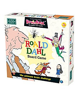 BrainBox Board Game Roald Dahl