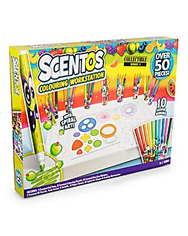 Scentos 50pc Colouring Workstation