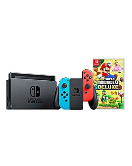 Nintendo Switch Console + Super Mario