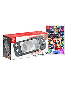 Nintendo Lite Grey + Mario Kart 8