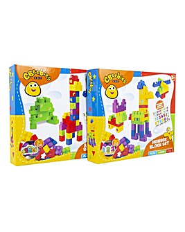 CBeebies 30pc Block Set 2 Pack