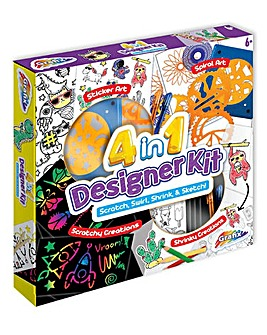 4 in 1 Designer Art Kit