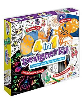 4 in 1 Designer Art Kit