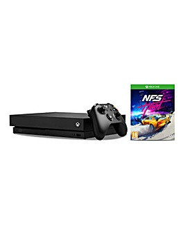 Xbox One X Console + Need For Speed Heat