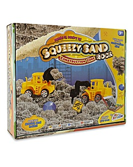 Squeezy Sand Rock Construction