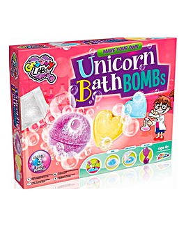 Unicorn Bath Bomb Lab