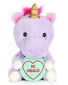 "Love Hearts Unicorn ""Be Unique"""