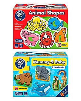 Early Learners Mummy & Baby 2 Pk Puzzle
