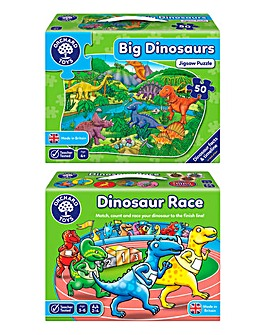 Dinosaur Fun Race & Big Dinosaur Puzzle