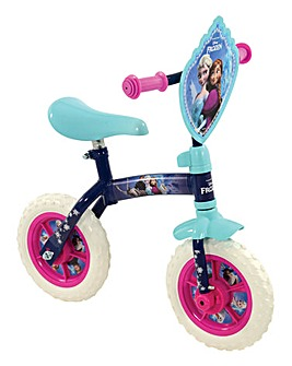"Disney Frozen 2-in-1 10"" Training Bike"