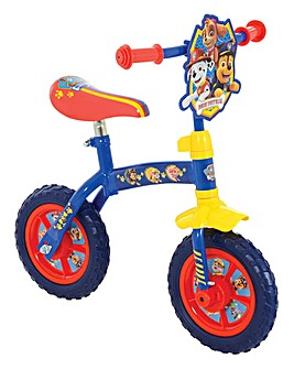 Paw Patrol 2-in-1 10 inch Bike