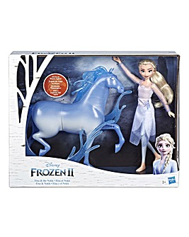 Disney Frozen Elsa Doll and Nokk Figure