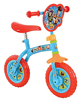 Toy Story 2-in-1 10 inch Training Bike