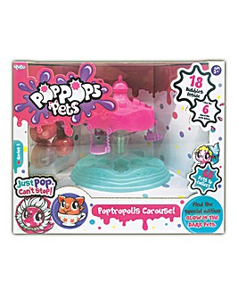 Pop Pops Pets Playset - Carousel