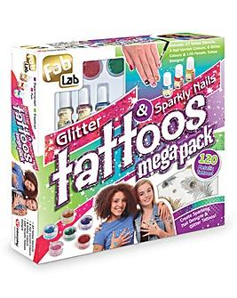 FabLab Glitter Tattoo Mega Pack