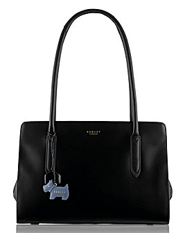 Radley Black Medium Zip Tote Bag
