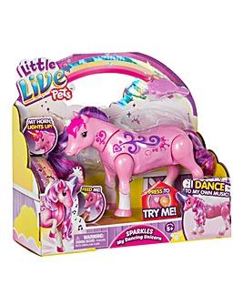 Live Pets Sparkles Dancing Unicorn