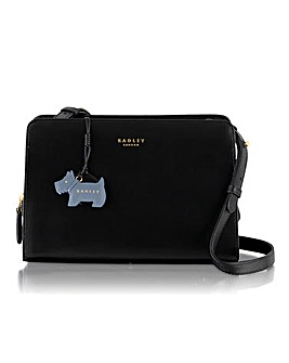 Radley Black Medium Across Body Bag