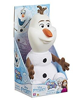 Disney Glow Friends Talking Olaf