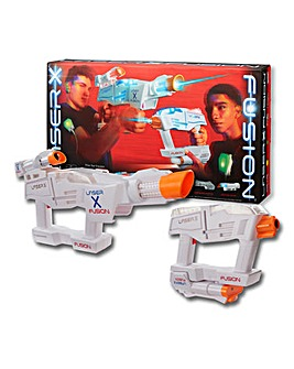 Laser X Fusion Blaster 2 Pack