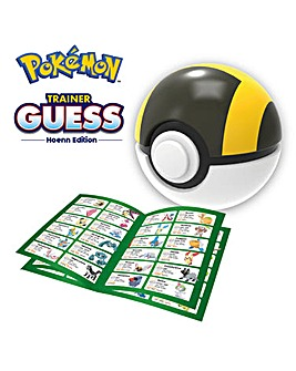 Pokemon Trainer Guess Hoenn Edition