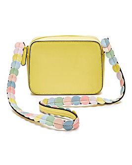 Rainbow Strap Shoulder Bag