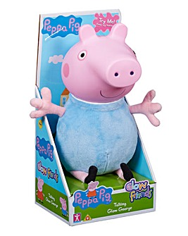 Peppa Pig Glow Friends Talking Glow George Pig