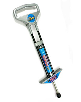 Pogo Stick Black & Silver