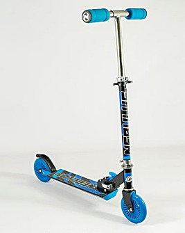 Nebulus Scooter Black & Blue