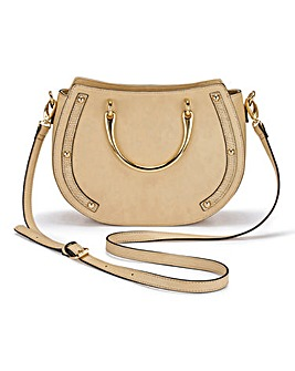 Ring Detail Saddle Bag
