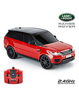 1:24 RC Range Rover Sport Red Remote Control Car