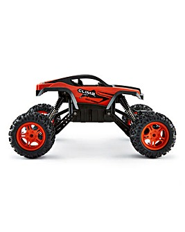 1.12 Monster Truck Chassis Orange Remote Control Car
