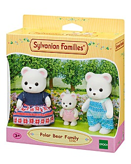 Sylvanian Families Polar Bears Family