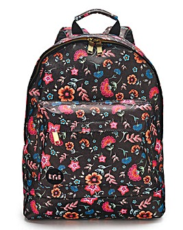 Mi Pac Floral Print Backpack