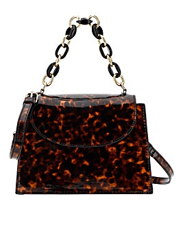 Tortoiseshell Chain Grab Bag