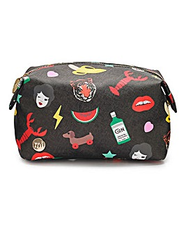 Mi Pac Characters Wash Bag