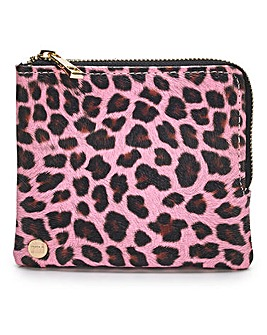Mi Pac Cheetah Print Coin Holder