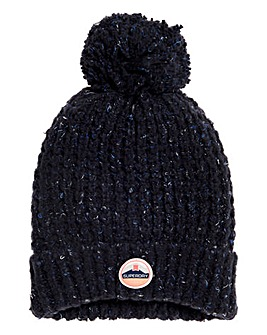 Superdry Clarrie Stitch Beanie Hat