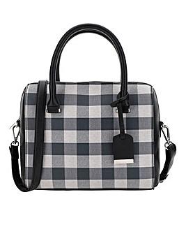 Saffiano Monochrome Bowler Bag