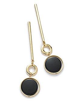 Metal Stick Drop Earrings