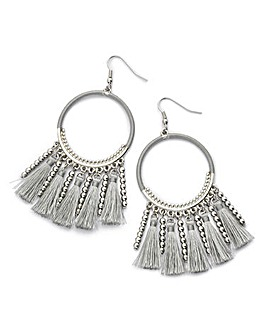 Wrap Tassel Earrings