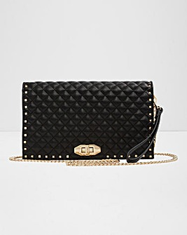 Aldo Quilted Clutch Bag