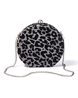Circle Shaped Hard Clutch Bag