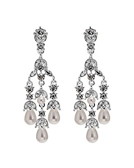 Mood Pearl Droplet Chandelier Earring