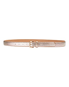 Rose Gold Shimmer Jeans Belt