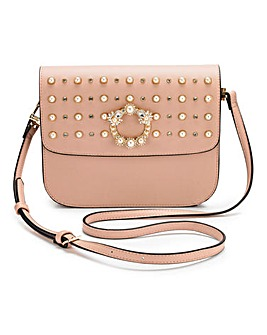 Dune Small Studded Across Body bag
