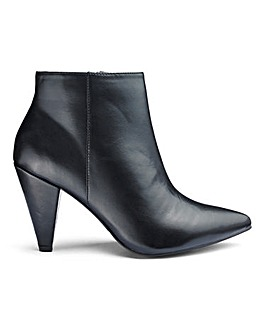 Lillibet Cone Heel Boots Wide Fit