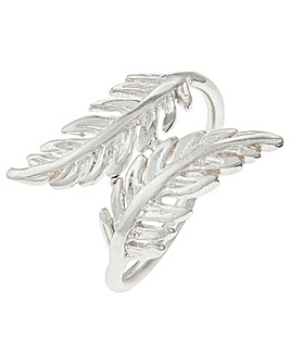 Accessorize St Feather Wrap Ring