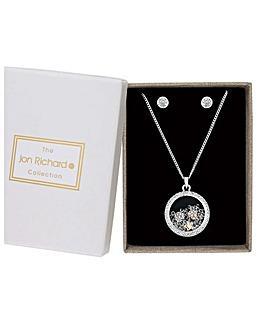 Jon Richard Shaker Necklace With Studs